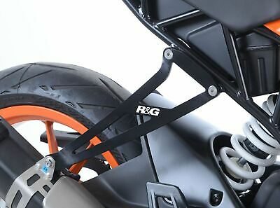Black Exhaust Hanger and Blanking plate for KTM RC 390 2017 2018