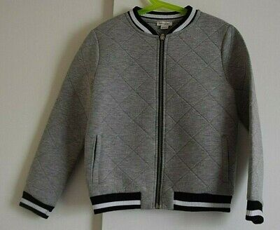 River Island girls grey Bomber Jacket size 9-10 years