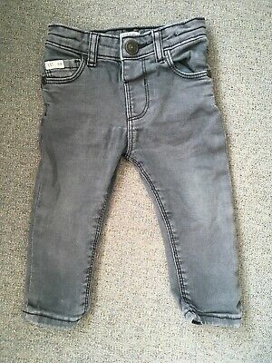 River Island Baby Dark Grey Skinny Jeans Age 9-12 Months