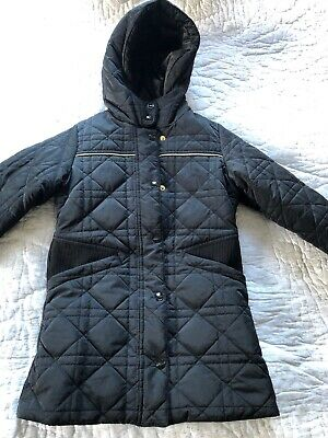 Authentic Christian Dior Kids Black Puffer Coat Size 6 Years Old Girls