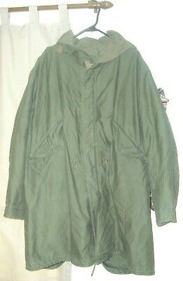 Orginal M1951 Parka With Attached Hood And Liner