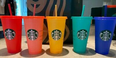 Starbucks Confetti Color Changing Summer 2020 COLD Reusable Cup Venti NEW
