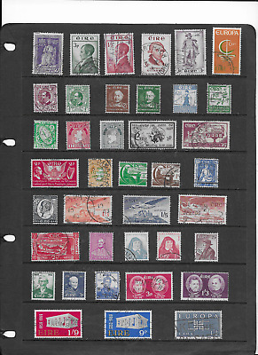 Ireland Stamp Collection.