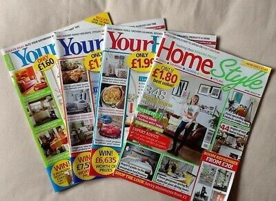 Your Home & Home Style Magazines - Various Dates