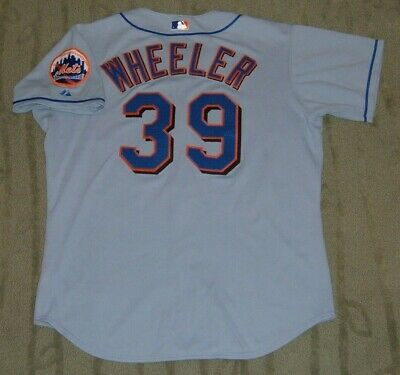 New York Mets Dan Wheeler Game Used Worn 2003 Jersey (Astros Devil Rays Red Sox)