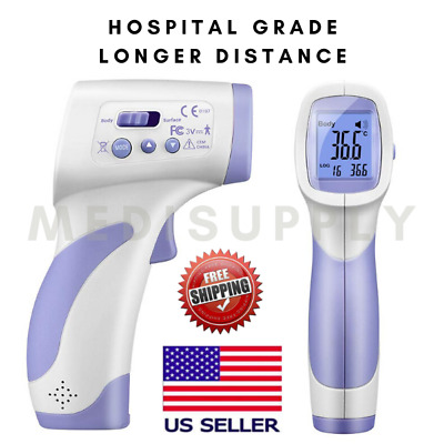 Medical Hospital Grade NON-CONTACT Forehead Infrared Laser Digital Thermometer