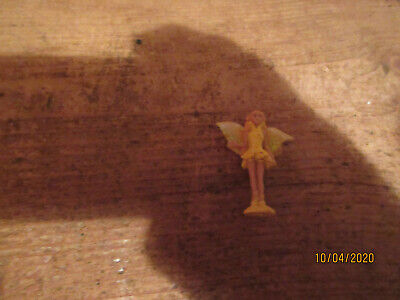 Vintage Rare Spares Yellow Gold Flower Garden Fairy Wing Polly Pocket Playfigure