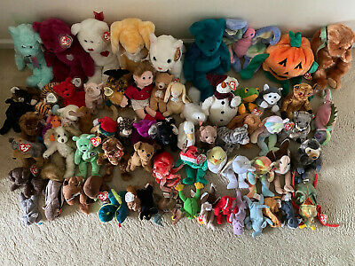 TY Beanie Babies Collection Job Lot