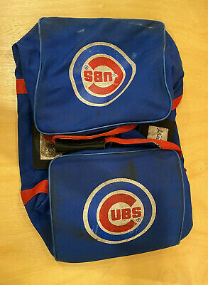 Chicago Cubs Game Used Wilson Equipment Bag - Well used