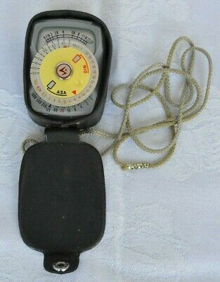 Vintage Unittio Light Meter With Case