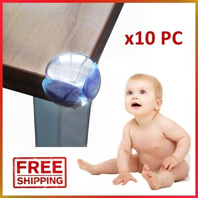 10 x SAFETY CORNER CUSHIONS FOR BABY/CHILD/KID PROOF DESK TABLE COVER PROTECTOR