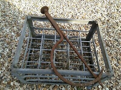 """Vintage Wrought Iron 22"""" Thatchers Needle - Antique collectors metalware tool"""