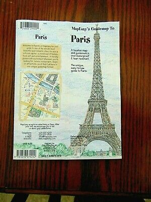 MapEasy's Guide map to Paris, France