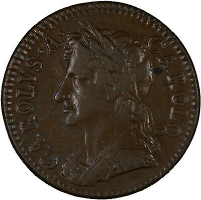 Great Britain 1672 Farthing VF+/VF, VERY ATTRACTIVE