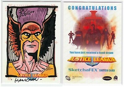 Justice League Of America>Hawkman Sketch Card
