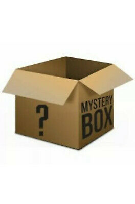 Mystery box New & Used electronics, computers, magic Tattoos, dvds, Up to £5000