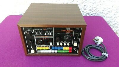 Roland Cr-78 Compu-Rhythm Rare Vintage Drum Synthesizer - Very Good Condition