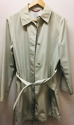 Next Beige Cream Mac Jacket Trench Coat Size 10