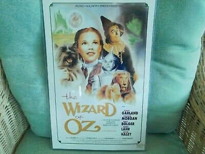 Vintage Wall Poster The Wizard Of OZ