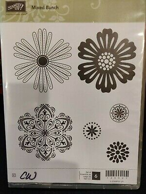 Stampin Up! Mixed Bunch , 6 pieces,