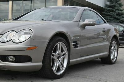 Mercedes-Benz: SL-Class SL55 2003 Mercedes SL55 AMG Pewter Silver Mint Condition Low Mileage 37k Miles!