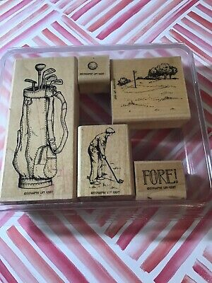 Stampin Up! **FORE!**wood Stamp Set