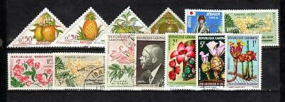 Stamps World Used (13), Gabon #1 In Africa, Must L@@K