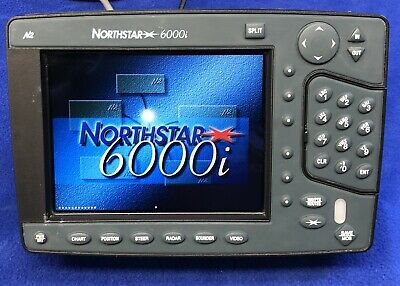 """Northstar 6000i 6.4"""" GPS Chartplotter Display; Tested & Working, 90 Day Warranty"""