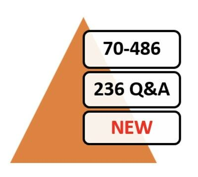 Updated 70-486 Exam 236 Q&A PDF File!