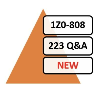 Updated 1Z0-808 Exam 223 Q&A PDF File!