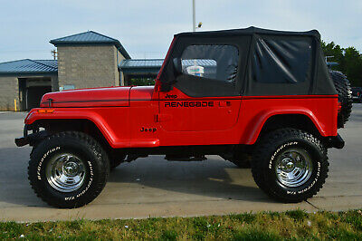 1991 Jeep Wrangler Renegade Fully restored Jeep Wrangler YJ with Renegade decal package Very nice Rust free!