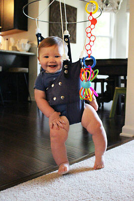NEW! MERRY MUSCLES Baby Jumper Helps Colic, Prevents Hip Dysplasia & Toe-walking