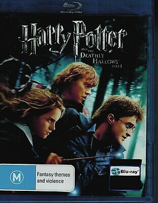 Harry Potter & The Deathly Hallows Part 1 (2010 film Daniel Radcliffe | Blu Ray