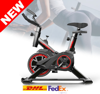 Fitness Cycling Bicycle Stationary Exercise Bike Gym Training Cardio Workout DHL