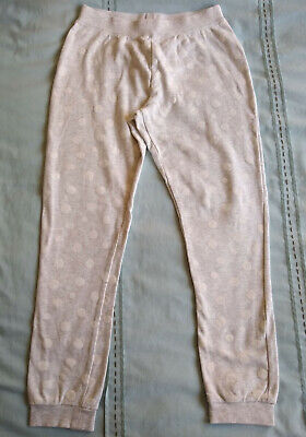 pale grey spotty jogpants, 8-10 years, H&M, hardly used