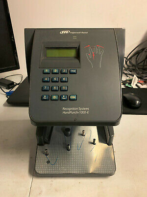USED Ingersoll Rand Hand Punch 1000-E Biometric Time Clock