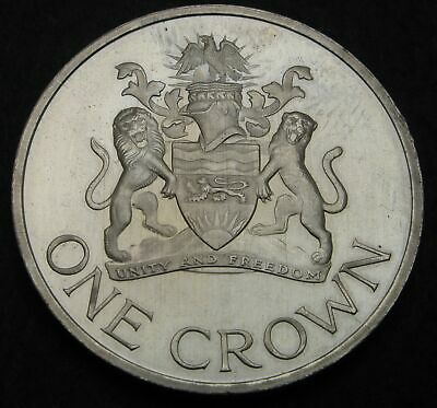 MALAWI 1 Crown 1966 Proof - Nickel/Brass - Day of the Republic - 1052