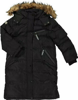 Girls Hulabalu Black Parka Coat Jacket Aged  3-4 Years BNWT RRP £67