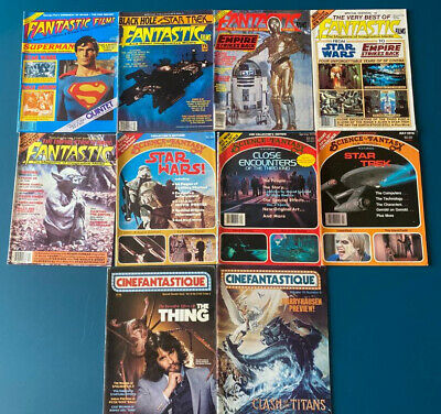 Selection Of Sci-fi Magazines!