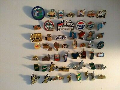 Pepsi products 7UP Canada Dry 52 pins lot