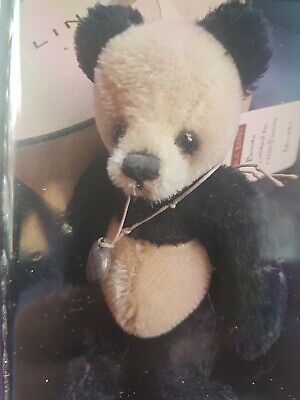 charlie bears boots is a beautiful panda keyring he is limited edition of 1200