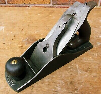 Stanley 4 /12 Dated 1910 - 1918 Sweetheart iron Hand Plane excellent condition