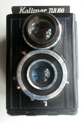 Kalimar TLR 100 Medium Format TLR Film Camera Made in USSR at Leningrad Factory