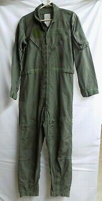 US Military Coveralls 42L Flyers CWU-27/P Summer Flight Suit Sage Green