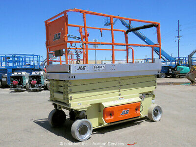 2008 JLG 2646ES 26' Electric Scissor Lift Man Aerial Work Platform bidadoo