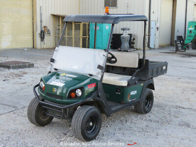 2014 Cushman HAULER 800X Gas Industrial Equipment Cart Manual Dump Bed bidadoo