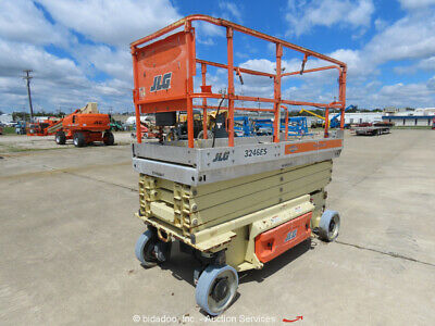 2008 JLG 3246ES 32' Electric Scissor Lift Man Aerial Platform bidadoo -Repair