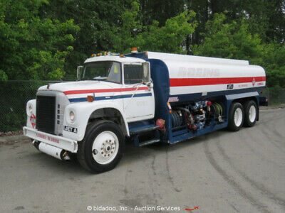 International Harvester Loadstar 1850 5,000 Gal Fuel Tanker Truck Diesel bidadoo