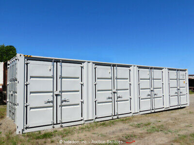 Singamas 40' HQ High-Cube Four Side Door Shipping Container Conex bidadoo -New