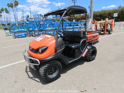 2012 Kubota RTV400CI 16hp 4WD Industrial Utility Vehicle Equipment Cart bidadoo